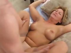 Hot blonde milf fucket