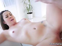 Sister, Brunette, Doggystyle, Hardcore, HD, Small Tits