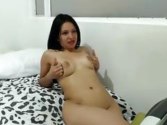 Hottest Amateur movie with Brunette, Solo scenes porn tube video