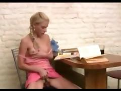 Dad catches horny daughter reading porn ! tube porn video