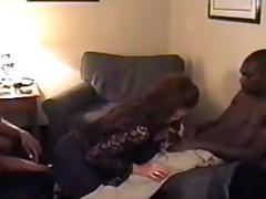 Hawt White Doxy Wife  Blk double penetration d