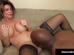 MILF, Black, Boss, Ebony, Interracial, Mature