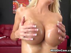 Big Tits, Big Tits, Blonde, Masturbation, Sex, Fake Tits