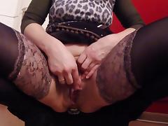 Buttplug always makes me squirting tube porn video