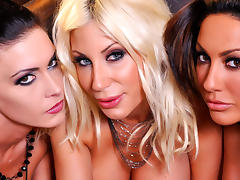 Jessica, Puma and Tiffany have wet pussy's porn tube video