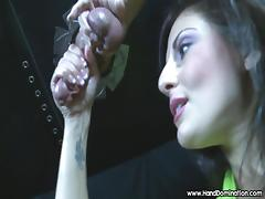 gloryhole cock drips and insane amount of pre-cum during fem porn tube video