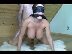 Amateur, Amateur, Blindfolded, Mask, Big Natural Tits