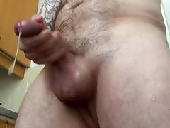 Ralf Wessman Fingers His Ass and Jerks Off with Cums a Lot porn tube video