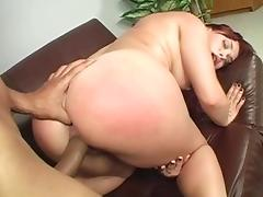Crazy pornstar Olga Cabaeva in incredible facial, interracial xxx video