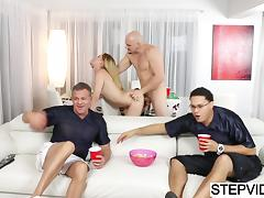 Gigi Flamez gets drilled by her uncle tube porn video