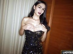 Sexy Ladyboy Bella Blowjob And Rimjob porn tube video