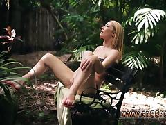 Teen creampie garage and cute braces blowjob Raylin Ann is a