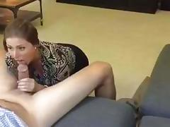 Sucking Coworker's Cock porn tube video