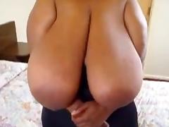 Super huge black saggy boobs porn tube video