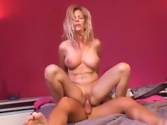 Horny pornstar in exotic blonde, blowjob sex scene porn tube video