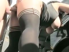 Incredible Amateur record with Doggy Style, Big Tits scenes