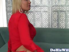 Cheating housewife with big tits gets banged porn tube video