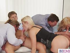 Bisexual, Anal, Bisexual, Couple, Group, Orgy