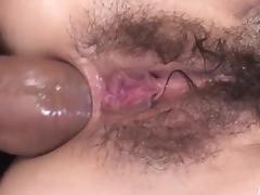 Rough anal threesome with slimKanon Hanai