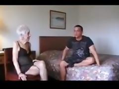 Grandma enjoys junior cock porn tube video