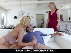 BadMILFS - Horny Cougar Fucks Daughters Boyfriend