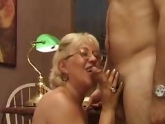 Old teacher seduces junior student porn tube video