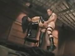 Latex mistress allows her slave to fuck her porn tube video