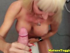 Bigtitted mature Kasey Storm jerking pov porn tube video