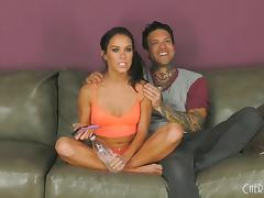 Megan Rain has a tasty pussy Small Hands enjoys sucking hard