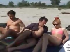 Beach, Beach, Group, Orgy