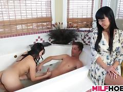Sister, Asian, Boyfriend, Hardcore, Mature, Mom