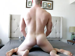 Big Cock, Big Cock, Blonde, Fucking, Muscle, Skinny