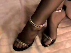 Boots, Boots, CFNM, Cum, Feet, Footjob