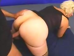 Mom and Boy, 18 19 Teens, Big Cock, Blonde, Fucking, Interracial