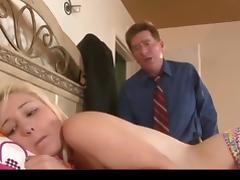 junior blonde punished