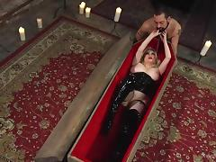 she wants to be fucked in a coffin tube porn video