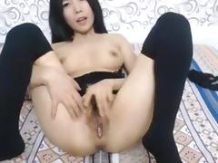Korean, Asian, College, Stockings, Teen, Webcam