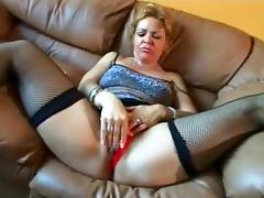 Crazy Homemade movie with Blonde, Masturbation scenes porn tube video