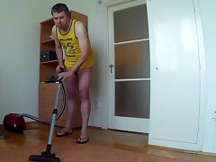 Julio fucking vacuum cleaner porn tube video