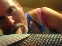 bisexual crossdresser and djchrishou get freaky. porn tube video