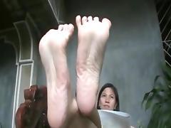 Long toe spreading joi part 3