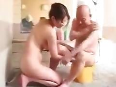 Japanese mom and father in law tube porn video