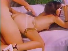 Best pornstar in fabulous lingerie, brunette adult movie
