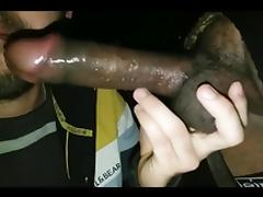 Gloryhole thess  monster black dick!