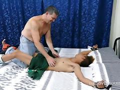Daddy Mike Barebacks Asian Boy Nishi porn tube video