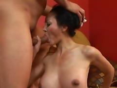 Fabulous pornstar Ange Venus in exotic mature, interracial porn movie