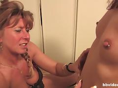 German lesbians playing with their pussies porn tube video
