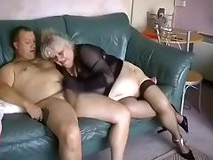 Crazy Amateur record with Stockings, Grannies scenes
