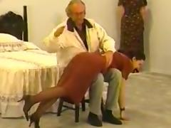 A vintage spanking for 2 beauties porn tube video