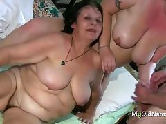 Bisexual, BBW, Bisexual, Granny, HD, Lucky